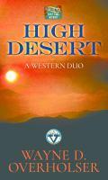 High desert : a western duo (LARGE PRINT)
