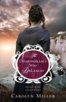 The dishonorable Miss DeLancey (LARGE PRINT)