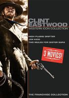Clint Eastwood. Western icon collection