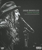 Sara Bareilles : brave enough : live at the Variety Playhouse