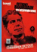 Anthony Bourdain, no reservations. Collection 7