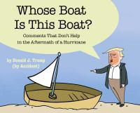 Whose boat is this boat? : comments that don't help in the aftermath of a hurricane