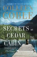 Secrets at Cedar Cabin (LARGE PRINT)