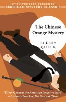 The chinese orange mystery (LARGE PRINT)
