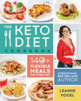 The keto diet cookbook : 140+ flexible meals for every day