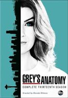 Grey's anatomy. Complete thirteenth season