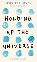 Holding up the universe (LARGE PRINT)