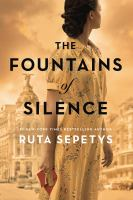 Sepetys, Ruta The fountains of silence (LARGE PRINT)