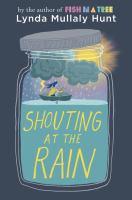 Shouting at the rain (LARGE PRINT)