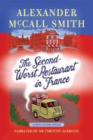 The second-worst restaurant in France (AUDIOBOOK)