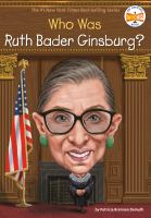 Who is Ruth Bader Ginsburg?
