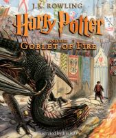 Rowling, J. K. Harry Potter and the goblet of fire . Year 4