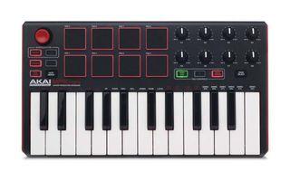 MIDI controller kit : AKAI MPK mini keyboard and pad controller