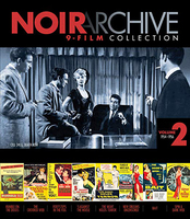 Noir archive 9-film collection. Volume 2, 1954-1956 [Blu-ray]
