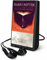 Harry Potter and the half-blood prince (AUDIOBOOK)