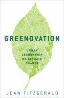 Greenovation : urban leadership on climate change