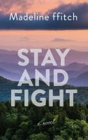 Stay and fight (LARGE PRINT)