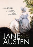 Jane Austen : writing, society, politics