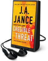 Credible threat (AUDIOBOOK)
