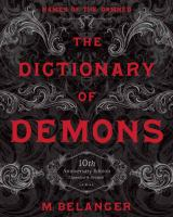 The dictionary of demons : names of the damned