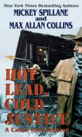 Hot lead, cold justice : a Caleb York western (LARGE PRINT)