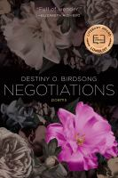 Negotiations : poems
