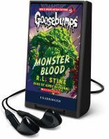 Monster blood (AUDIOBOOK)
