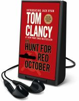 The hunt for red October (AUDIOBOOK)