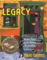 Legacy : women poets of the Harlem Renaissance