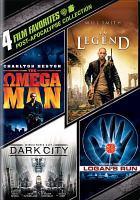 Post-apocalypse collection, I Am Legend ; Logan's Run ; Dark City ; The Omega Man.