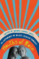 Mouths of rain : an anthology of Black lesbian thought
