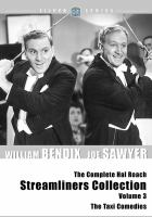 The complete Hal Roach streamliners collection. Volume 3, The taxi comedies