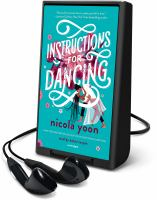 Instructions for dancing (AUDIOBOOK)