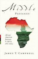 Middle passages : African American journeys to Africa, 1787-2005