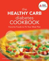 Healthy carb diabetes cookbook : favorite foods to fit your meal plan